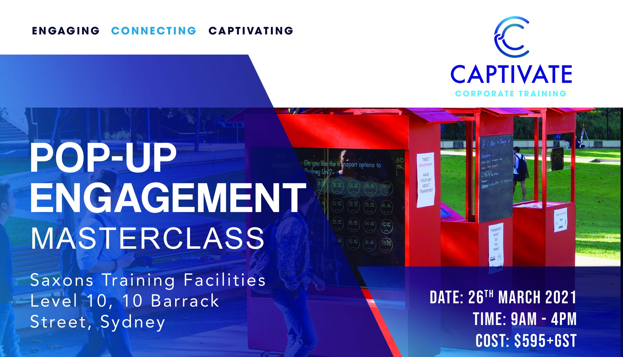 Banner Pop-Up Engagement Masterclass