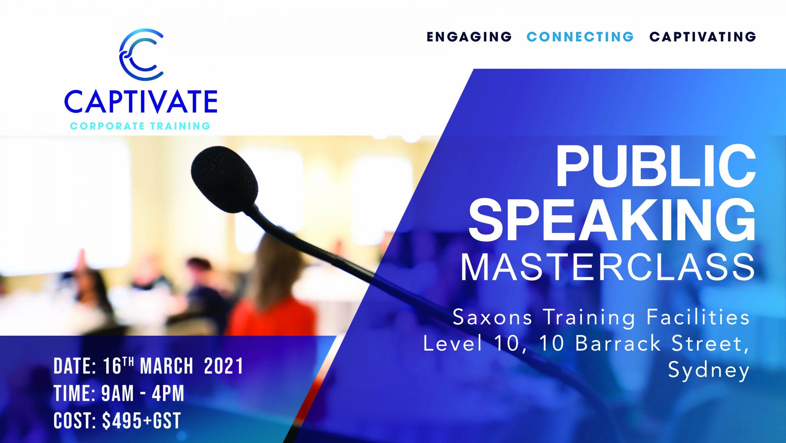 Banner_Public Speaking Masterclass